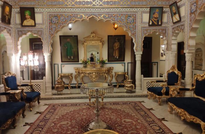 Opinión de viaje a India y Nepal: Hotel de Jaipur