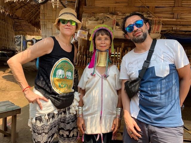 Mujeres Jirafa en Tailandia