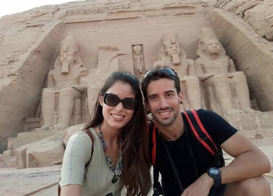 Miriam y Jaime nos cuenta la experiencia de su viaje a Egipto