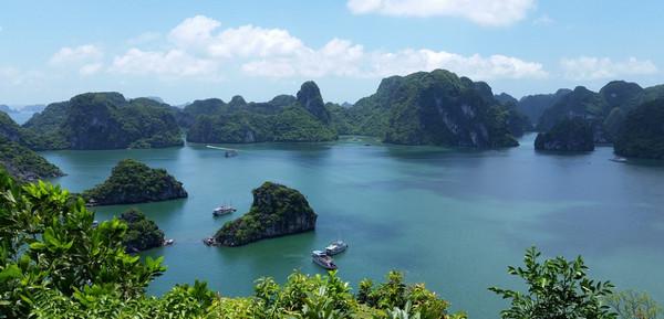 Viaje a Vietnam, bahía de Ha-Long