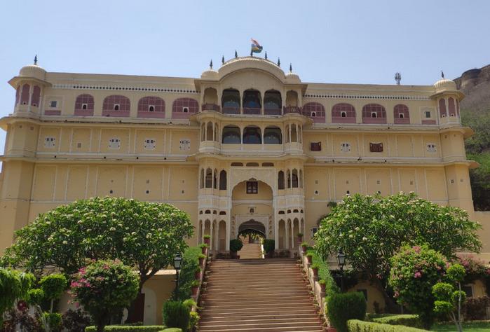 Opinión de viaje a India y Nepal: Palacio de Samode.