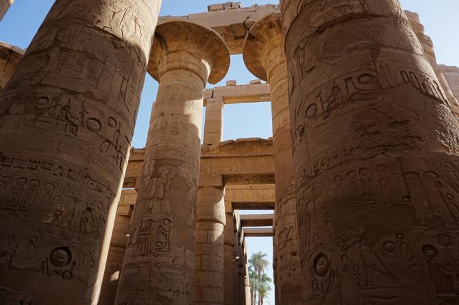 Viaje a Egipto de Benet y su familia