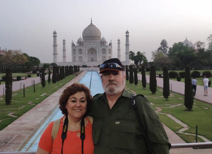Opinión de viaje a India y Nepal: Taj Mahal.