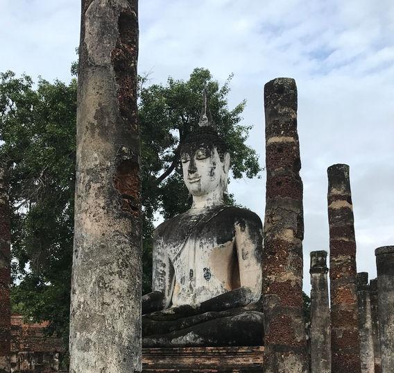 Buda, parque de Sukhothai