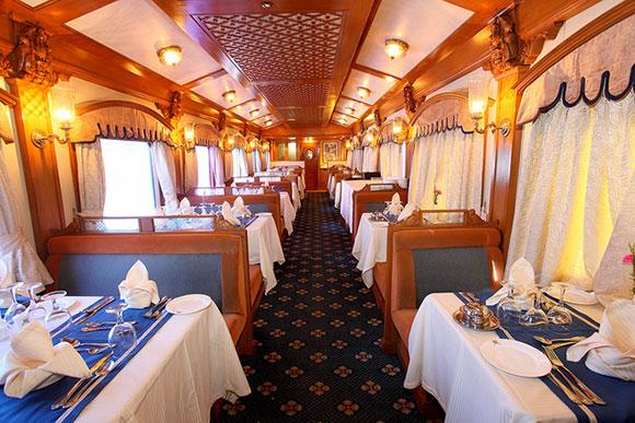 Viajes en tren de lujo por la India: Deccan Odyssey