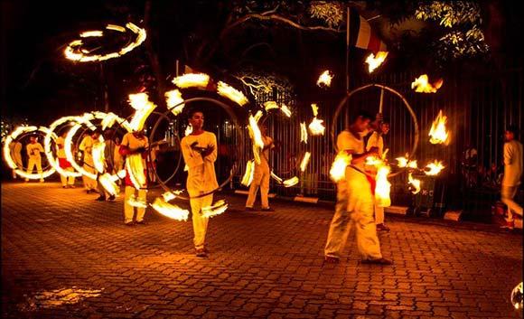 El festival Esala Perahera en Kandy