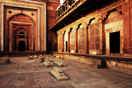 Interior de Fatehpur Sikri