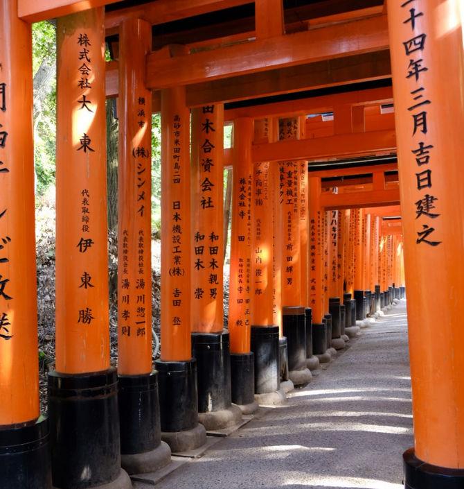 Opinión de Monica del viaje a Japón: Fushimi-ku en Kioto