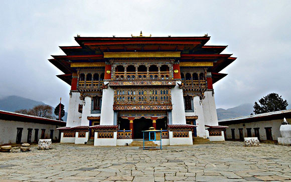 Viaje a Bután: Monasterio Gangtey Goenpa en Phobjikha