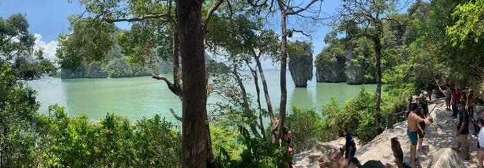 Excursión desde Phi Phi a James Bond Island, Krabi, Tailandia