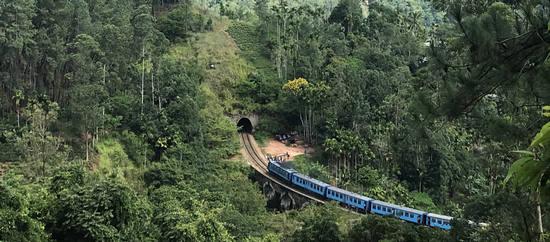 Viaje a Sri Lanka de Malena y Víctor, tren panorámico.