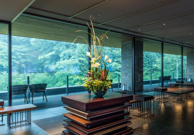 Hotel Ryokan en Hakone, Japón