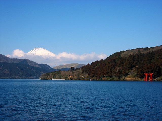 Viaje a Japón: Lago Ashi en Hakone