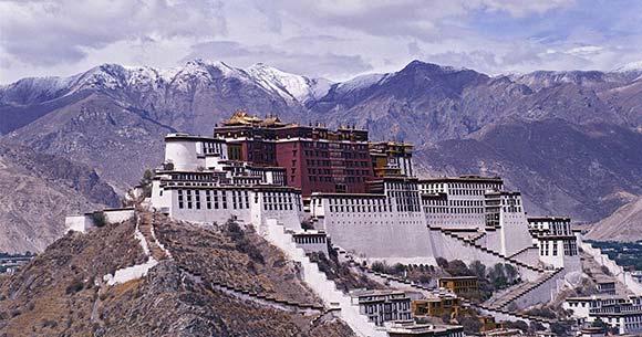 Viajar a Tíbet: Templo de Potala en Lhasa