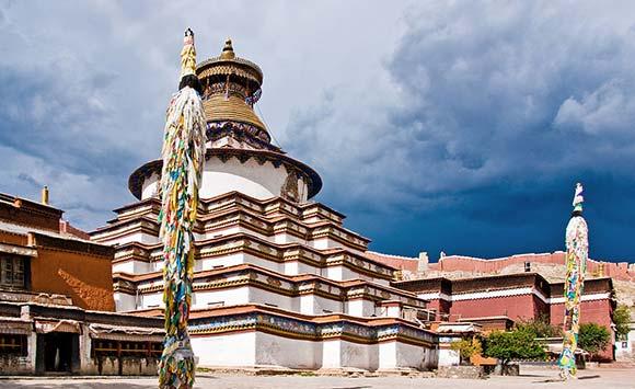 Viajar a Tíbet: Monasterio de Pelkhor Chode en Gyantse