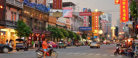 Dónde alojarse en Bangkok: Chinatown