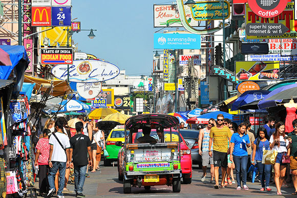 Dónde alojarse en Bangkok: Banglamphu y Khao San Road