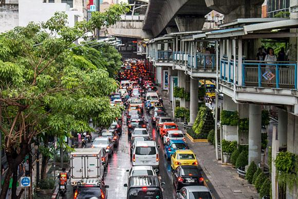 Dónde alojarse en Bangkok: Silom