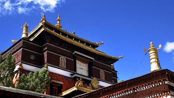 Viajar a Tíbet: Monasterio Tashilhunpo en Xigatse