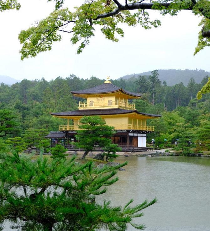 Opinión de Monica del viaje a Japón: Templo de oro de Kinkaku-ji en Kioto