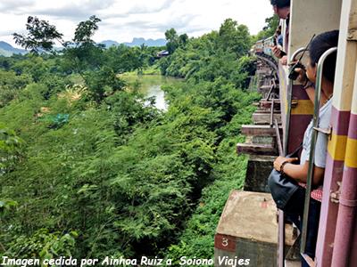 Tren de la muerte Rio Kwai