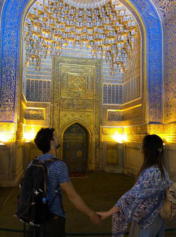 El viaje a Uzbekistan de Miriam y Jaime