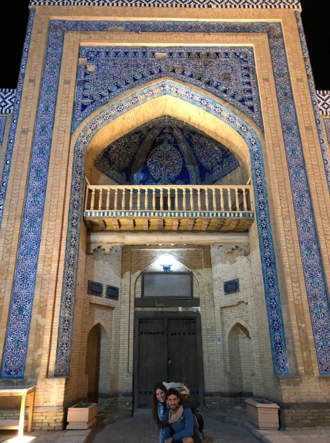 El viaje a Uzbekistan de Miriam y Jaime: Madrasa en Khiva