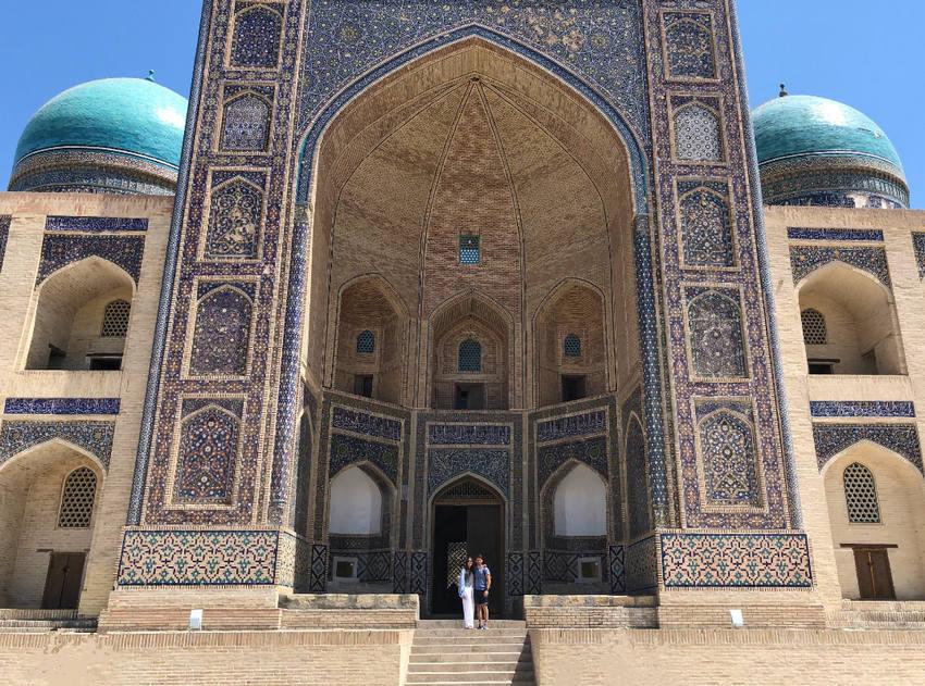 El viaje a Uzbekistan de Miriam y Jaime: Bukhara