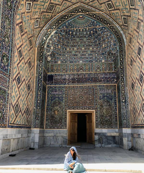 El viaje a Uzbekistan de Miriam y Jaime: arte uzbeko